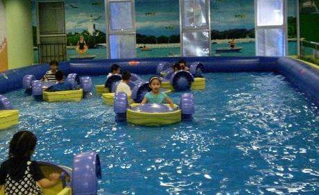 儿童充气城堡 充气鱼池